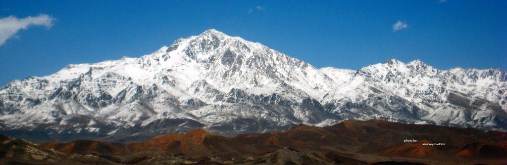 کوه شاه بافت کرمان