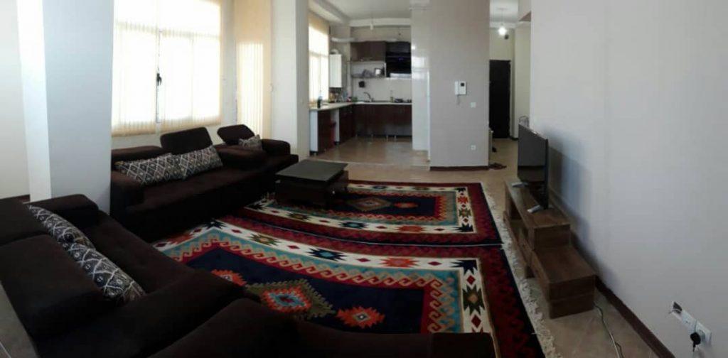 آپارتمان مبله 110 متری شهرک باهنر