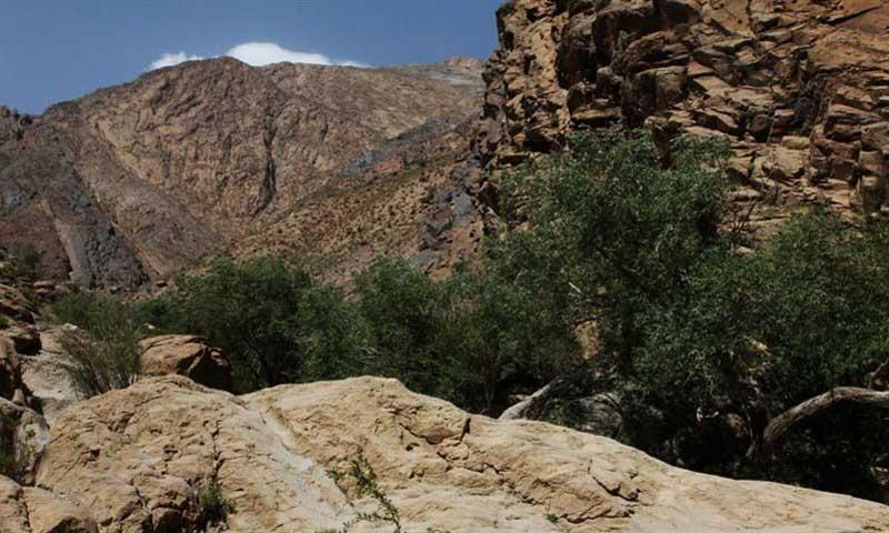 روستای سه کنج کرمان