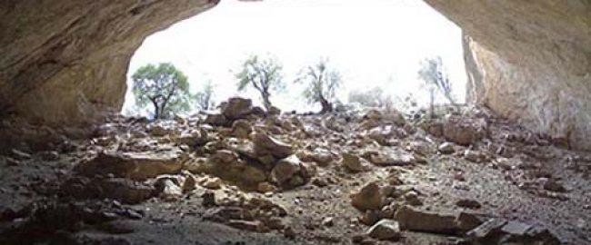 غار شبپره بافت