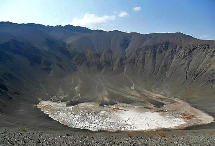 دهانه های آتشفشانی راین کرمان