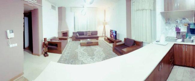 آپارتمان مبله در کرمان ۱۱۰ متری